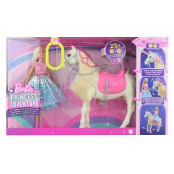 Obrázek Barbie Adventure Princezna a kůň baterie