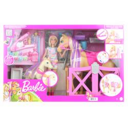 Obrázek Barbie Rozkošný koník s doplňky GXV77 TV 1.10.-31.12.2021
