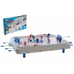 Obrázek Hokej společenská hra 63x41cm plast/kov kovová táhla v krabici 73x43,5x8,5cm