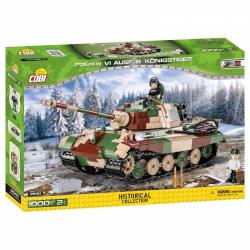 Obrázek Cobi 2540  II WW Panzer VI Tiger Ausf. B Konigstiger