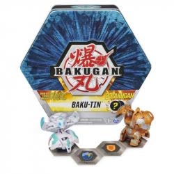 Obrázek BAKUGAN PLECHOVÝ BOX S EXKLUZIVNÍM BAKUGANEM S3 - 2 druhy