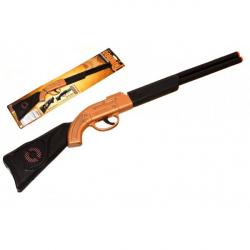 Obrázek Pistole/Puška klapací plast 50cm na kartě
