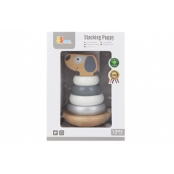 Obrázek Dřevěná pyramida - pes