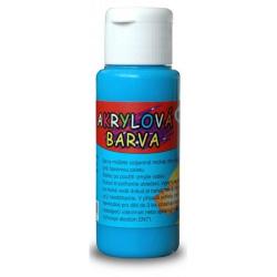 Obrázek Akrylová barva 60ml - modrá světlá (light blue)