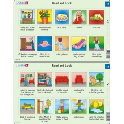 Obrázek Puzzle Angličtina - krátký text RA9 10 dílků