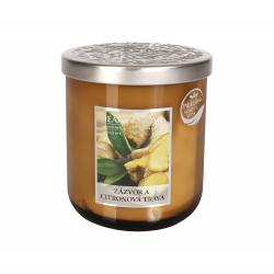 Obrázek ALBI Střední svíčka - Zázvor a citronová tráva