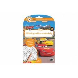 Obrázek Křížovky, sudoku, osmisměrky s tužkou Auta/Cars 15x21cm