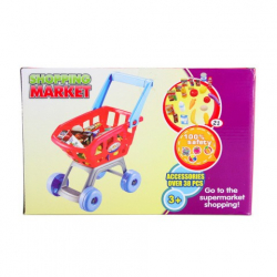 Obrázek Nákupní košík s potravinami