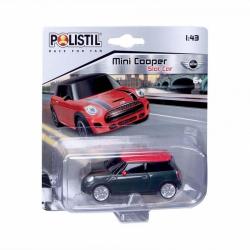 Obrázek Polistil Mini Cooper Slot car 1:43 Black