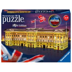Obrázek Puzzle Buckinghamský palác (Noční edice) 216 dílků