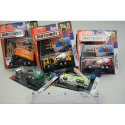 Obrázek Matchbox Pracovné vozidlá - assorti