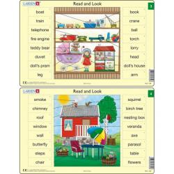 Obrázek Puzzle Angličtina - slovíčka RA2 16 dílků