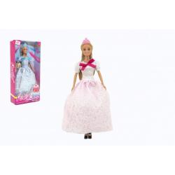 Obrázek Panenka Anlily princezna kloubová 30cm plast 2 barvy v krabici 15x32x6cm