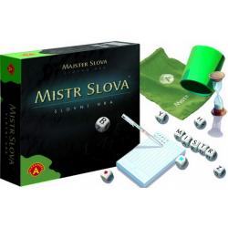 Obrázek Mistr Slova, slovní hra s kostkami