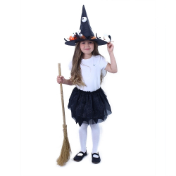 Obrázek Dětský kostým tutu sukně čarodějnice / Halloween