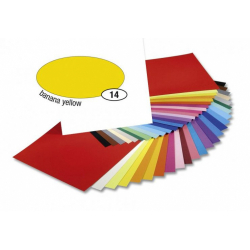 Obrázek Barevný papír 300g A4- Žlutý