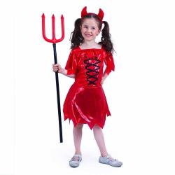 Obrázek Dětský kostým čertice (M)