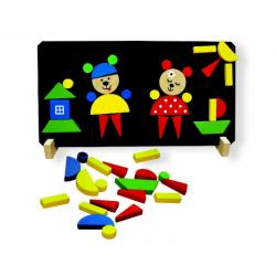 Obrázek Magnetické puzzle Medvědi - Detoa