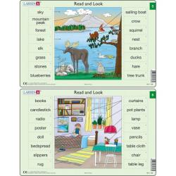 Obrázek Puzzle Angličtina - slovíčka RA3 16 dílků