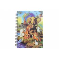 Obrázek Zápisník A5 safari