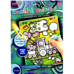 Obrázek Kúzelné maľovanie - ŠTETCOM naplneným VODOU mašina