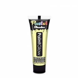 Obrázek Barvy na obličej UV pastelové 13 ml - žlutá (pastel lemon)