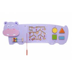 Obrázek Dřevěná nástěnná hra - hroch