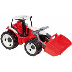 Obrázek Traktor se lžící, červeno bílý