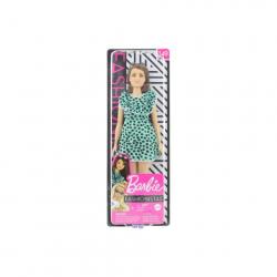 Obrázek Barbie Modelka - šaty s puntíky GHW63