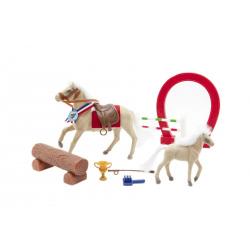 Obrázek Kůň fliška s hříbětem a doplňky