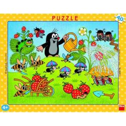 Obrázek Puzzle Krtko v jahodách - 40 dielikov