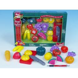 Obrázek Krájecí ovoce a zelenina plast v krabičce