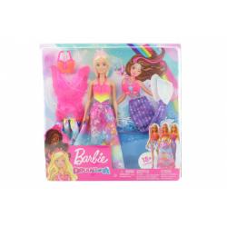 Obrázek Barbie panenka a pohádkové doplňky GJK40
