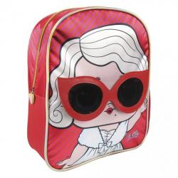 Obrázek Dětský batůžek 3D L.O.L. Červeno/růžový