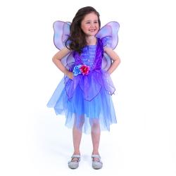 Obrázek Dětský kostým Fialová víla (M)