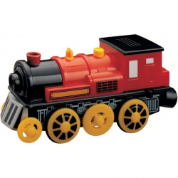 Obrázek Maxim Elektrická lokomotiva červená