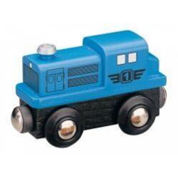 Obrázek Maxim Dieselová lokomotíva modrá
