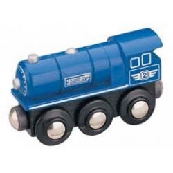 Obrázek Maxim Parná lokomotíva modrá
