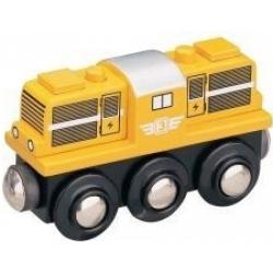 Obrázek Maxim Dieselová lokomotíva žltá