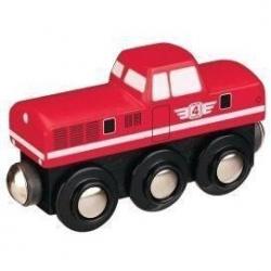 Obrázek Maxim Dieselová lokomotiva červená