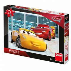 Obrázek Puzzle WD Cars 3: Příprava 48D