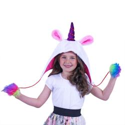 Obrázek Dětská čepice jednorožec