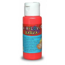 Obrázek Akrylová barva 60ml - rumělková (vermillion)