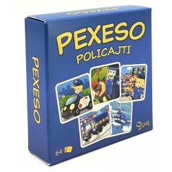 Obrázek Pexeso Policajti v krabičce