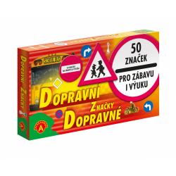 Obrázek Dopravní značky 50 ks