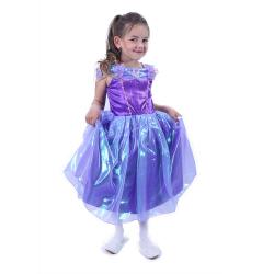 Obrázek Dětský kostým fialová princezna (M)