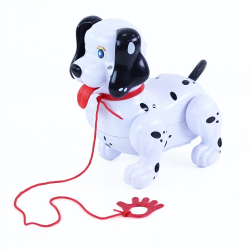 Obrázek Pes chodící se zvukem a vodítkem
