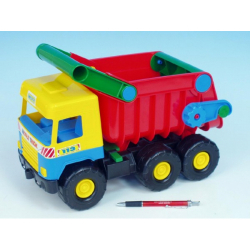 Obrázek Auto middle Truck sklápač 38 cm