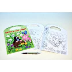 Obrázek Omalovánka Krtek a roční období 21x30cm