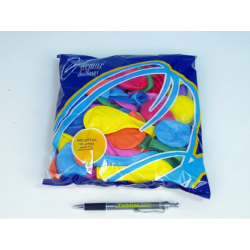 Obrázek Balonek nafukovací 8 barev v sáčku